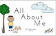 All About Me Early Emergent Reader - BUNDLE