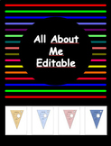 All About Me- Editable