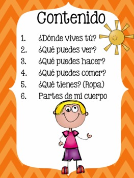 All About Me Emergent Books in Spanish