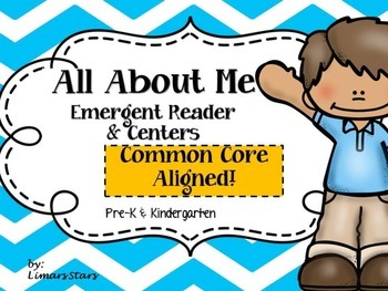 All About Me Emergent Reader & Centers
