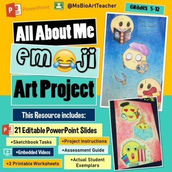All About Me: Emoji Art Project