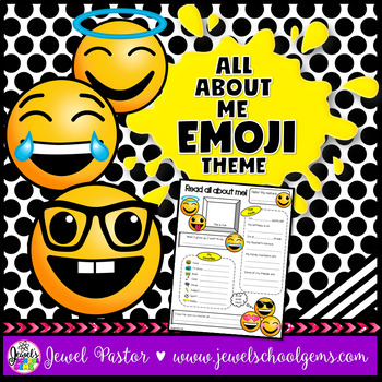 All About Me Emoji Theme
