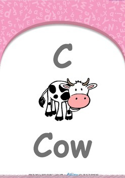 All About Me - Emotions (Angry & Sleepy) : Letter C : Cow - PN (1 yr old)