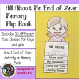 All About Me End of Year Memory Flip Book