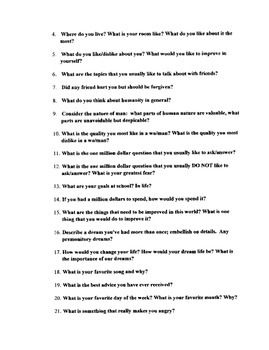All About Me Essay Project