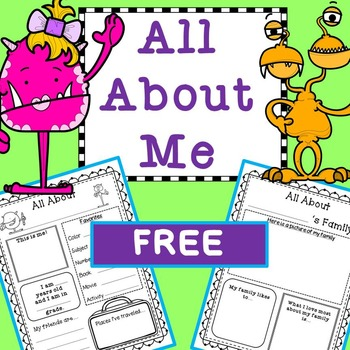 All About Me FREE