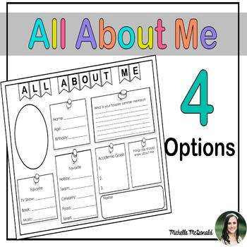 All About Me: FREE