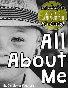 All About Me (FREEBIE)
