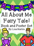 All About Me Fairy Tale Emergent Reader and Bulletin Board Posters for Preschool