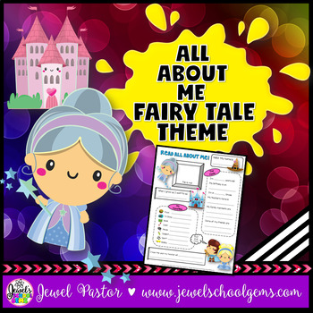 All About Me Fairy Tale Theme (All About Me Fairytale Theme)