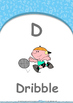 All About Me - Family : Letter D : Dribble - Nursery (2 ye