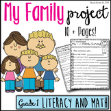 All About Me - Family Project Pack