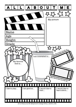 All About Me Film Theme