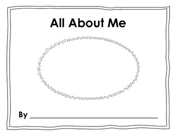 All About Me - Finish Me Book