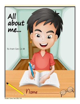 All About Me First Day of School Writing Activity| Back to School Activity