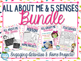All About Me & Five Senses BUNDLE!