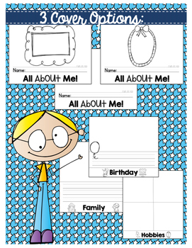 All About Me! Flip Book