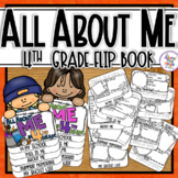 All About Me Flip Book - 4th Grade Back to School Coloring & Writing Activities