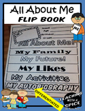 All About Me Flip Book- Back to School or End of Year