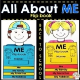 All About Me Activities - Back to School Activities