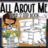 Back to School - All About Me Flip Book Activity for New Zealand Classrooms Yr 3