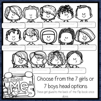 All About Me Flip Book a Back to School Activity for New Zealand Classrooms Yr 5