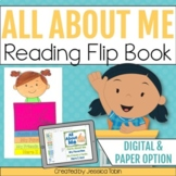 All About Me Flip Book for First Week of School- Back to School Activities