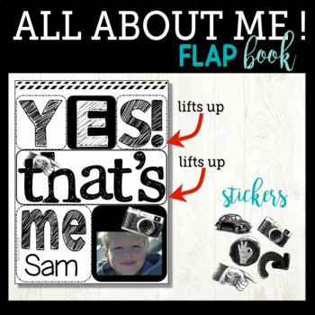 All About Me Flip Flap Book