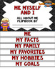 All About Me Flip book (Superhero series Flipbook) Back to School Activity