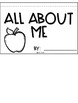 All About Me Flipbook (Freebie!)