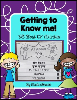 All About Me Flipbook and Activities
