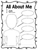 All About Me Flyer