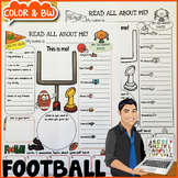 Football All About Me Poster