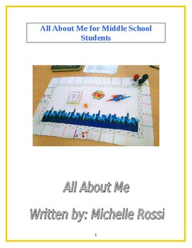 All About Me: For Junior High Students