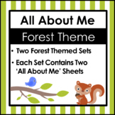 All About Me Forest Theme