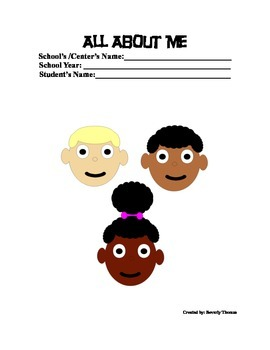 All About Me - Form