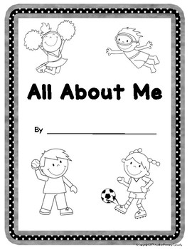 All About Me - Four Personal Narrative Writing Activities