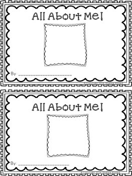 All About Me Freebie!