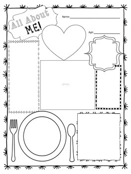 """All About Me"" Freebie!"