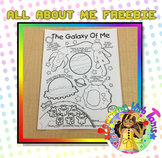 All About Me Freebie _Space
