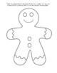All About Me Ginger Bread Man