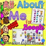 All About Me for Google Classroom