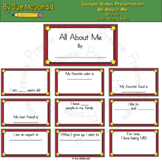 Quick & Easy Tech Project - All About Me - Google Slides,