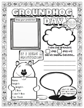 All About Me Groundhog Day Edition