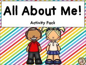 All About Me - I Am Special Theme Learning Pack