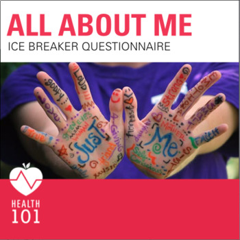 All About Me- Ice Breaker Activity: Questionnaire- Get To Know You!