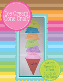 All About Me Ice Cream Craft