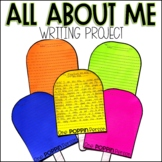 All About Me Informative Writing Project