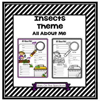 All About Me Insect Theme
