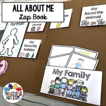 All About Me Lap Book